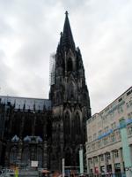 ケルン大聖堂、登る事はお勧めしない