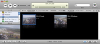 iTunesビデオライブラリ